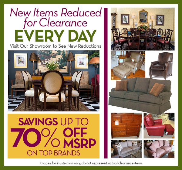 Patterson Furniture Company   Quality American Made Furniture For  Generations   Store Clearance
