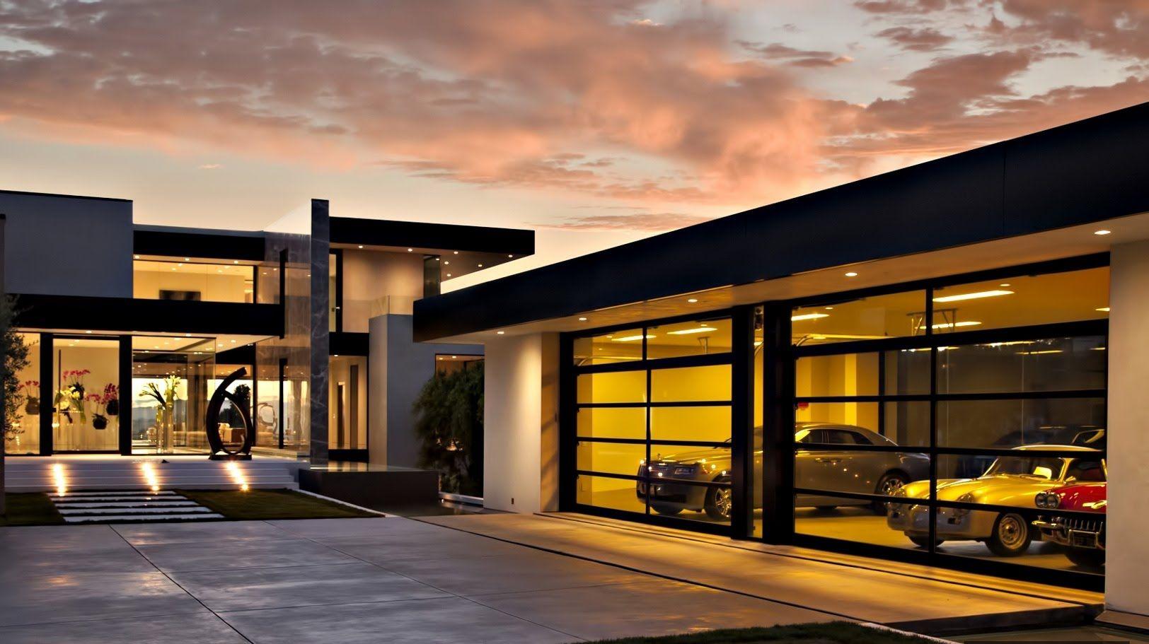 Stunning exquisite contemporary modern luxury residence - Modern interior doors los angeles ...