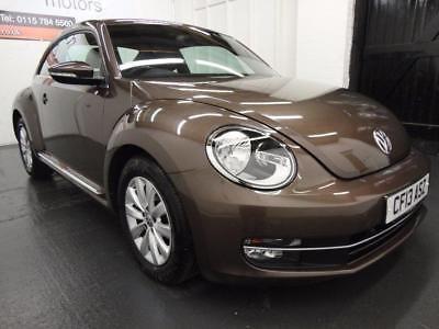 eBay: 2013 Volkswagen Beetle 1.6 TDI BlueMotion Tech Design Hatchback 3dr #vwbeetle #vwbug #vw
