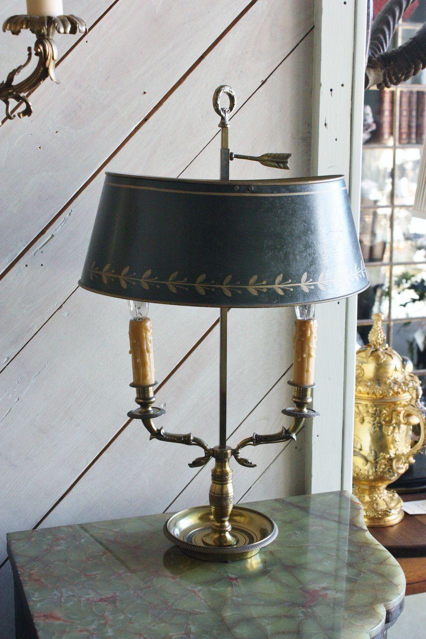 French Tole Bouillotte Lamp | BOUILLOTTE | Pinterest ...