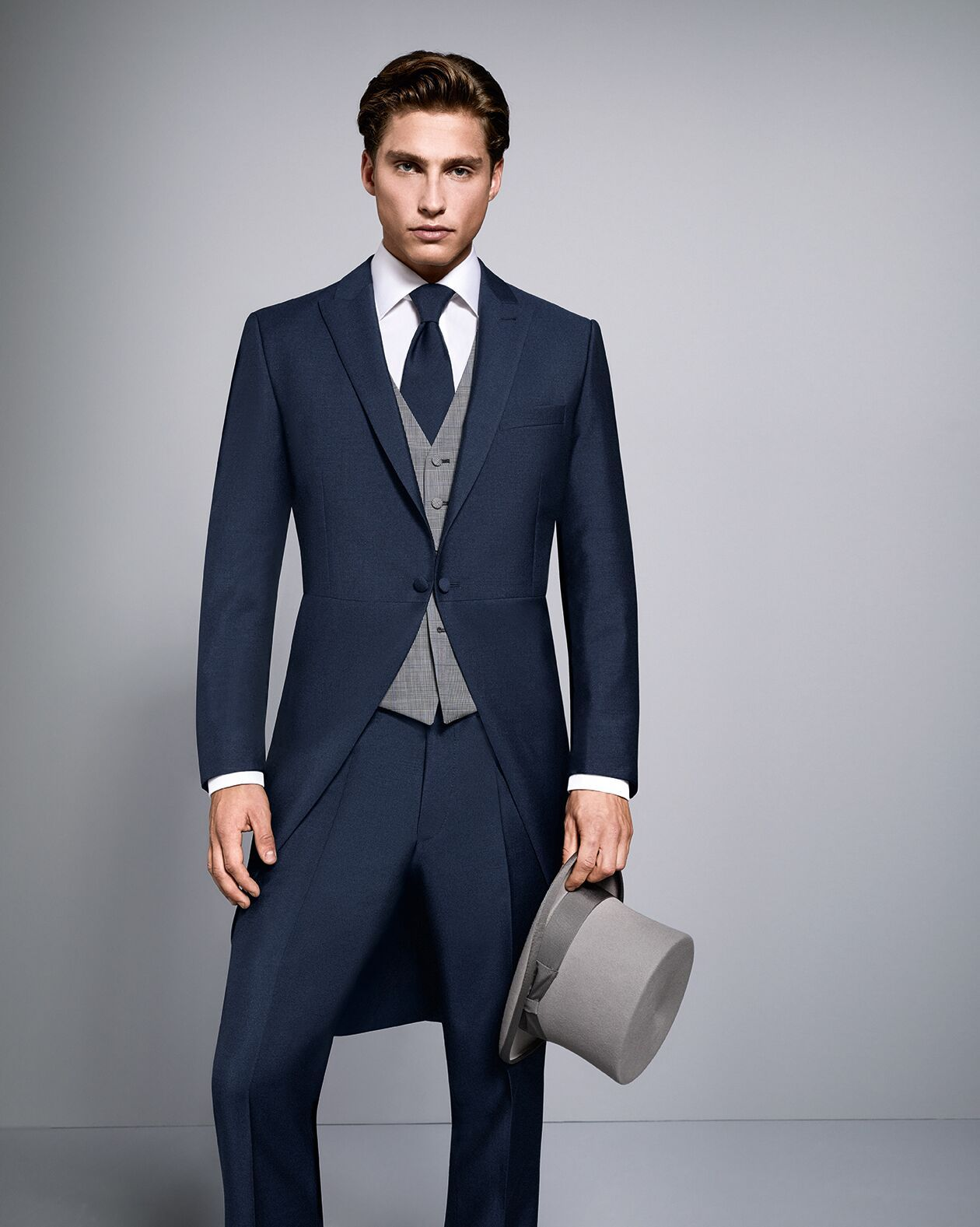 Navy Tail Suit Available To Hire Or This Lightweight Slimline Is Perfect