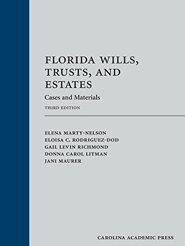 Cool Florida Wills Trusts And Estates Cases And Materials Student Encouragement Ebook Books To Read