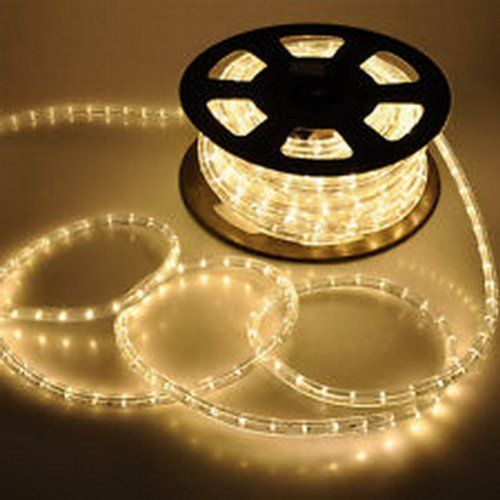 Pela Brand Name 150 Feet Led Rope Lights Warm White Color 1 2 13mm 1656 Leds With Acc Led Rope Lights Christmas Rope Lights Decorating With Christmas Lights
