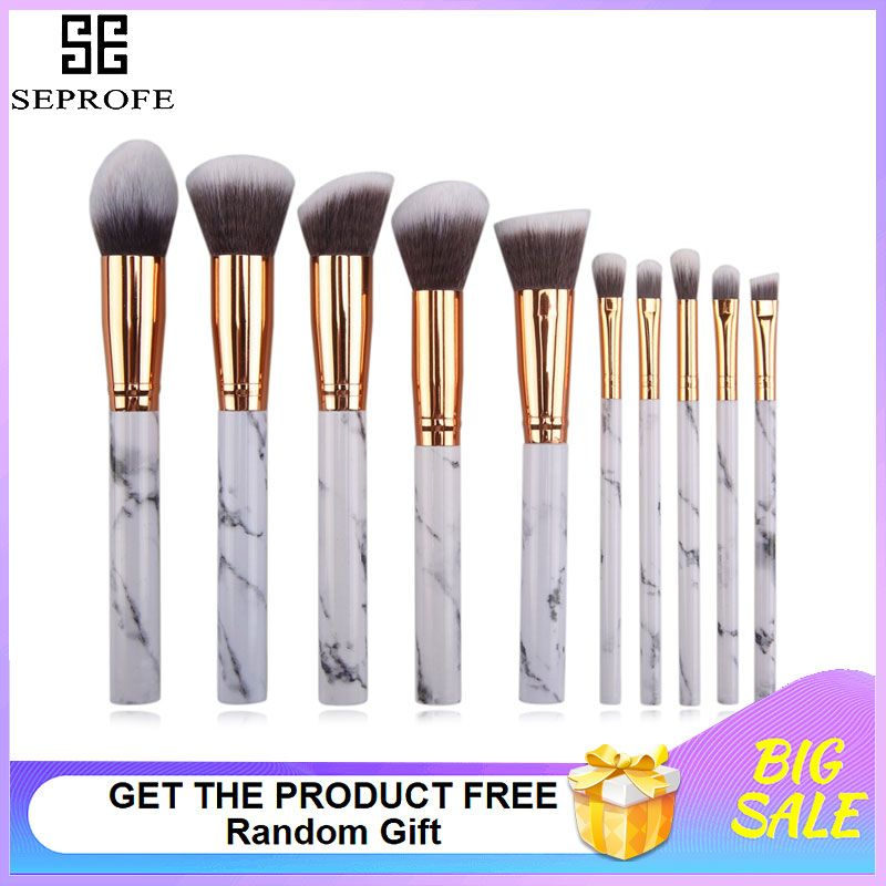 The Marble Luxe Makeup Brush Set Case Makeup Brush Set Eye Makeup Brushes Sephora Brush Set