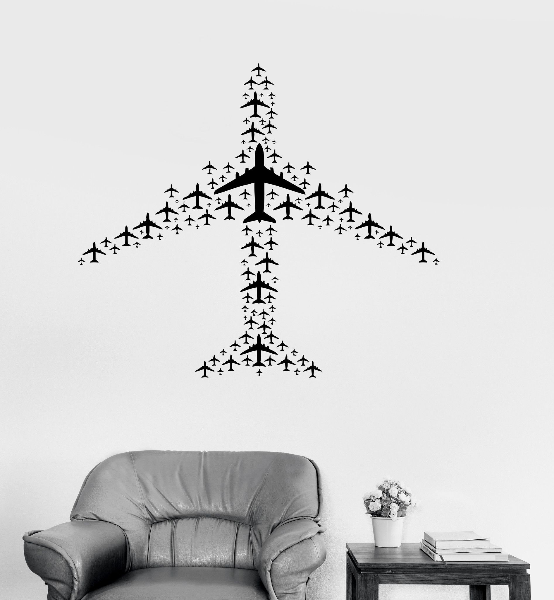 Vinyl Decal Airplane Flight Airport Aircraft Travel Wall Sticker Helicopter Diagram Greeting Cards Zazzle Our Stickers Are Unique And One Of A Kind Every We Sell Is Made Per Order Cut In House Make Decals Using Superior Quality