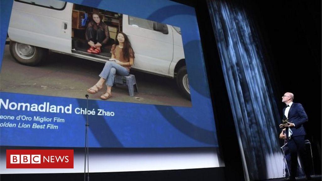 Us Film Nomadland Triumphs At Venice Film Festival In 2020 Cnn News Film Bbc News
