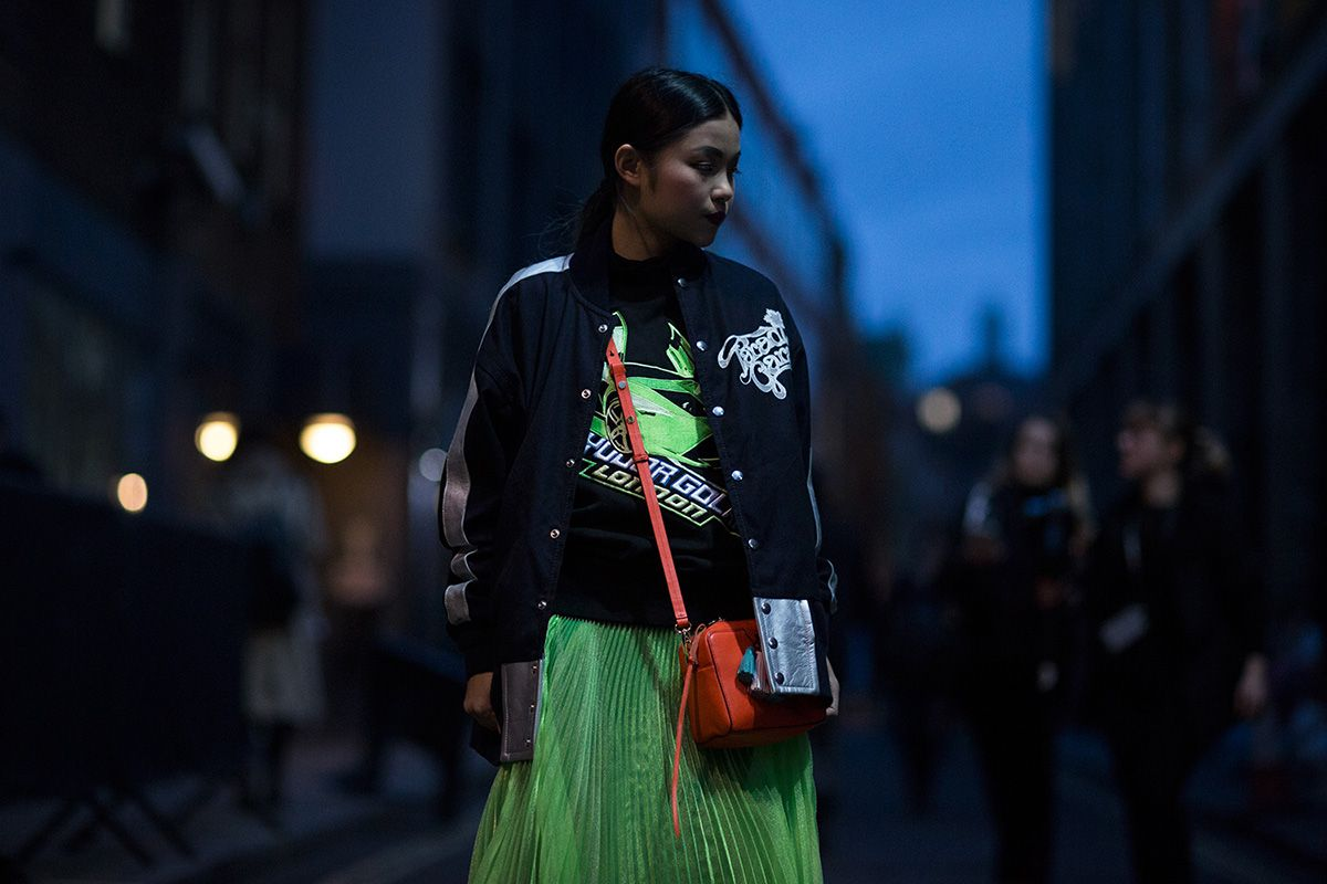 London Fashion Week FW16 Street Style