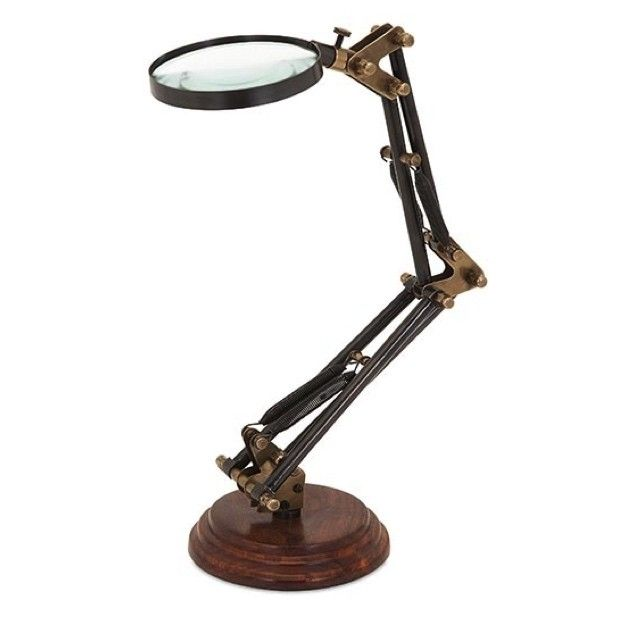 Standing Articulated Magnifying Glass Magnifier Magnifying