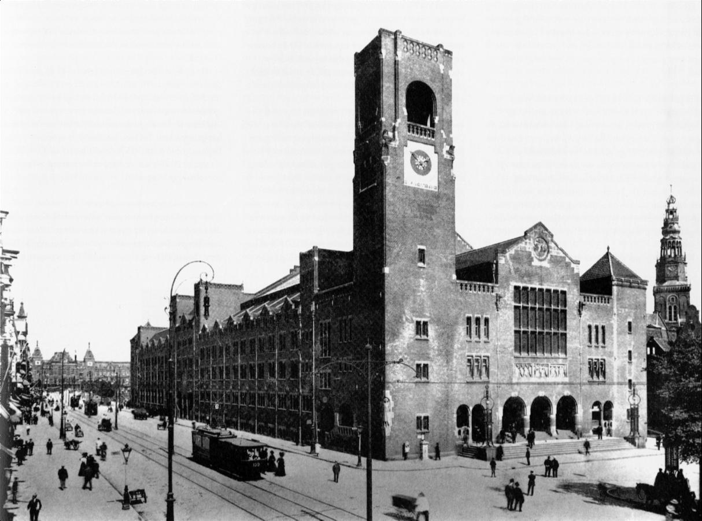 Hendrik Petrus Berlage Stock Excahange Amsterdam 1897 1