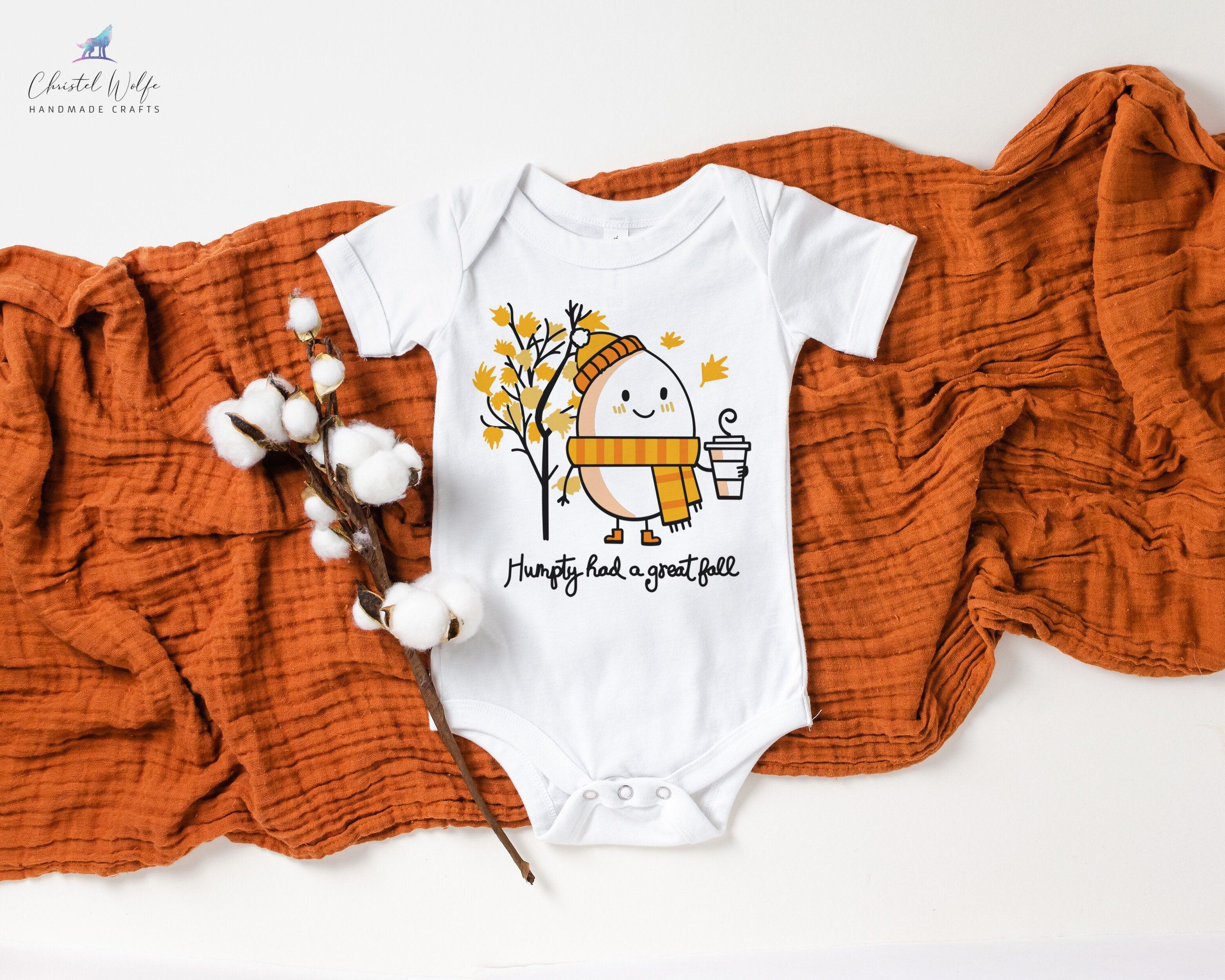 Humpty Had A Great Fall Bodysuit Fall Baby Clothes Humpty  Etsy