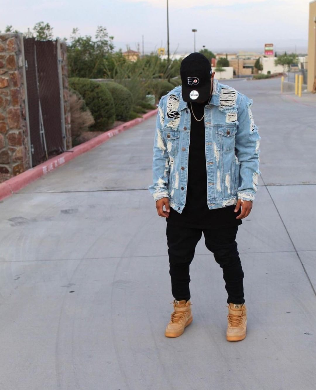 Fashionnovamen On Instagram Only Look Down To Admire Your Fit Search Darnell Denim Jacket Tag Fashionno Denim Jacket Mens Fashion Jeans Mens Jeans [ 1333 x 1080 Pixel ]