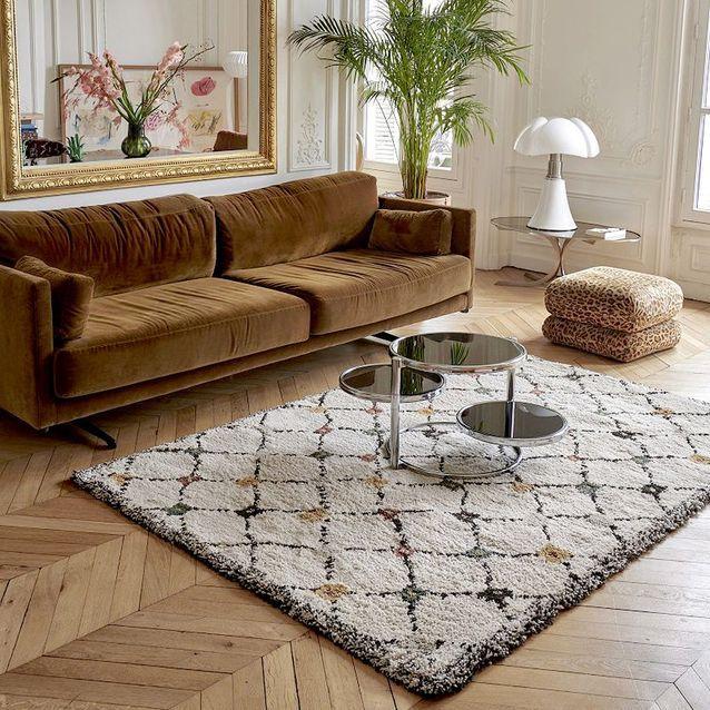elle decoration tapis berbere tapis