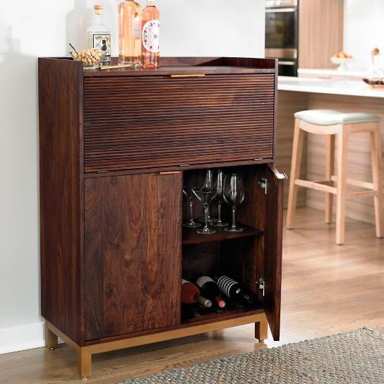 Oak Park Bar Cabinet