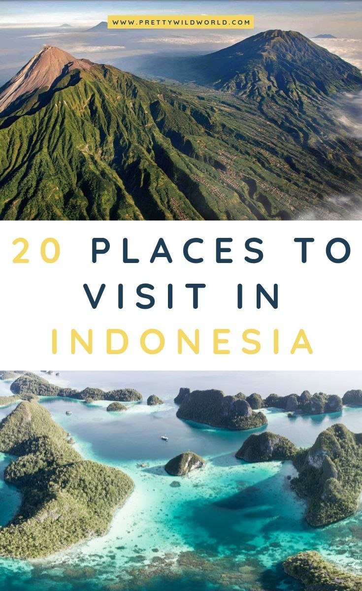 Places to visit in Indonesia | Looking to travel to Indonesia soon for some culture, aesthetic, photography, Bali, food, art, backpacking, and islands? Read this post now or pin this for later read! #Indonesia #Asia #SouthEastAsia #travel #traveldestinations #traveltips #bucketlisttravel #travelideas #travelguide #amazingdestinations #traveltheworld via @prettywildworld