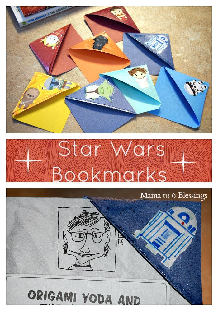 Star Wars Bookmarks Maytheforcebewithyou Star Wars Pinterest
