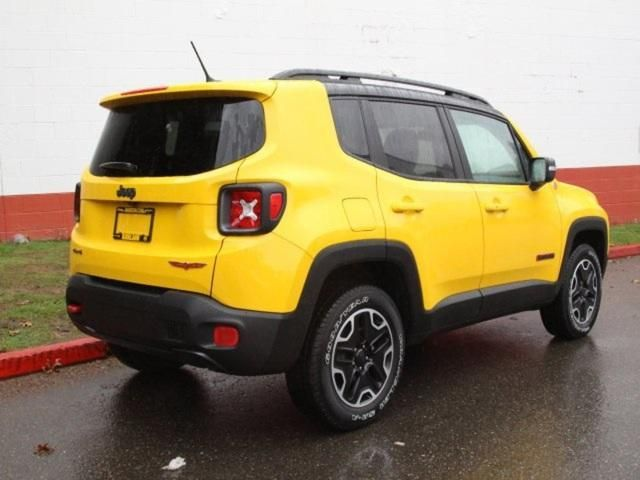 New 2016 Jeep Renegade Trailhawk 4x4 For Sale Kirkland Wa Jeep Renegade Jeep Renegade Trailhawk Jeep