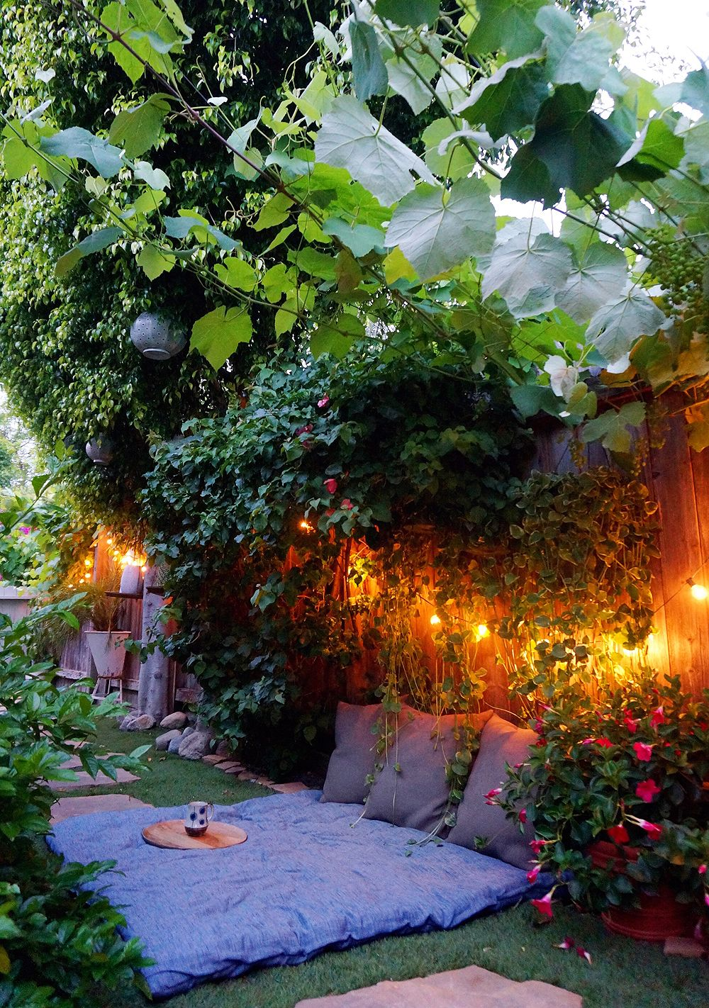 the tiny canal cottage outdoor spaces pinterest. Black Bedroom Furniture Sets. Home Design Ideas