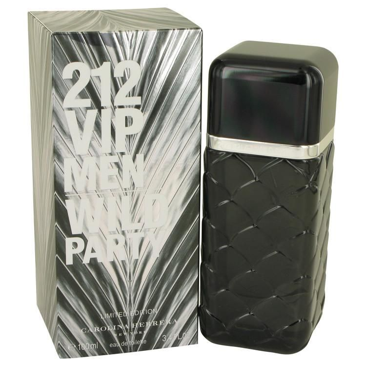 4df844d16 212 VIP Wild Party by Carolina Herrera 3.4 oz Eau De Toilette Spray for Men