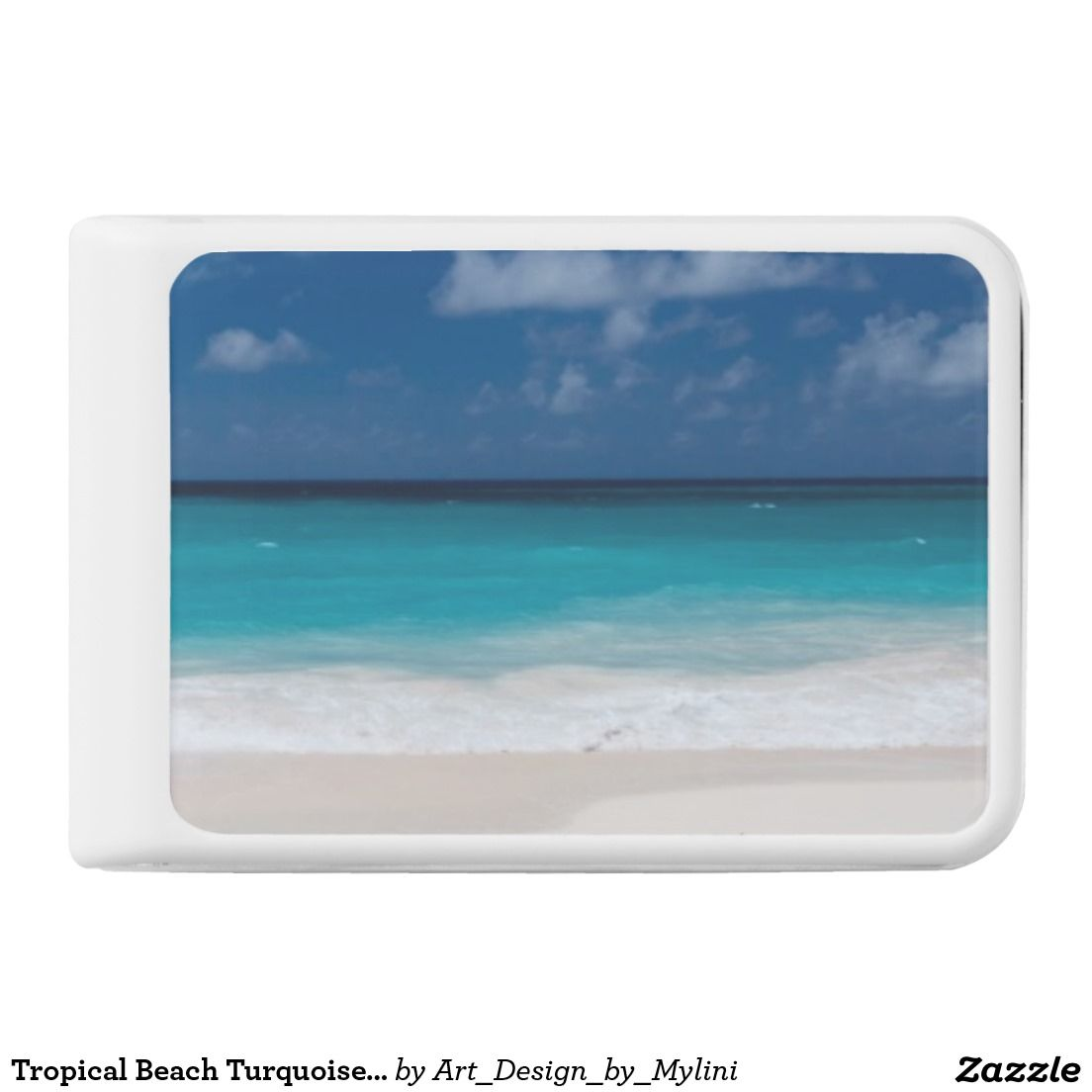 Tropical Beach Turquoise Water