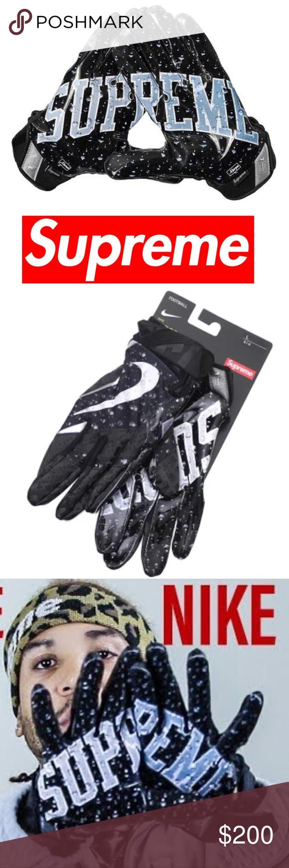 Sold Football Supreme Vapor Jet 4 0 Gloves Boutique Nike Football Nike Vapor Vapor