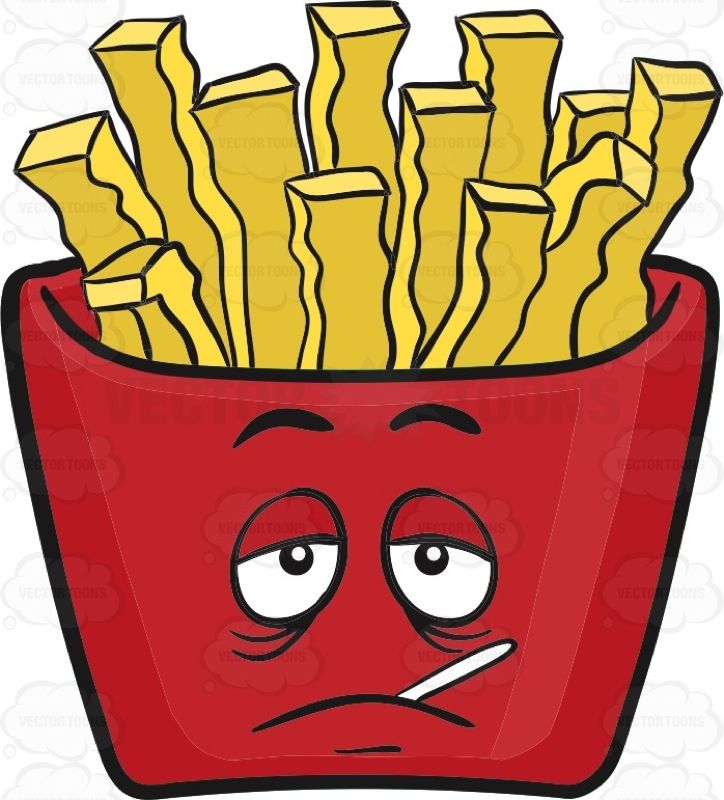 sickly red pack of french fries emoji french fries emoji red pinterest