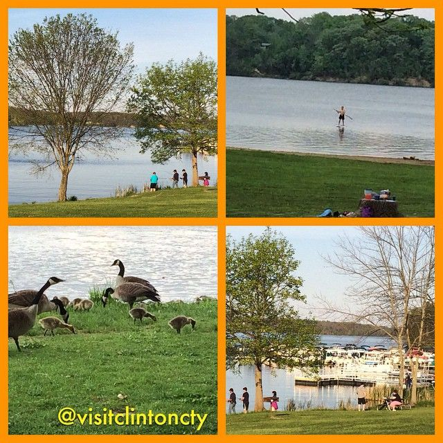 Some recent views at Cowan Lake State Park - Families can go fishing, boating, paddle boarding, swimming, hiking, and feeding the ducks. Who's ready for the weekend?  http://clintoncountyohio.com/list/parks/cowan-lake-state-park2  #visitclintoncounty #ohio #DiscoverOhio #familyfun