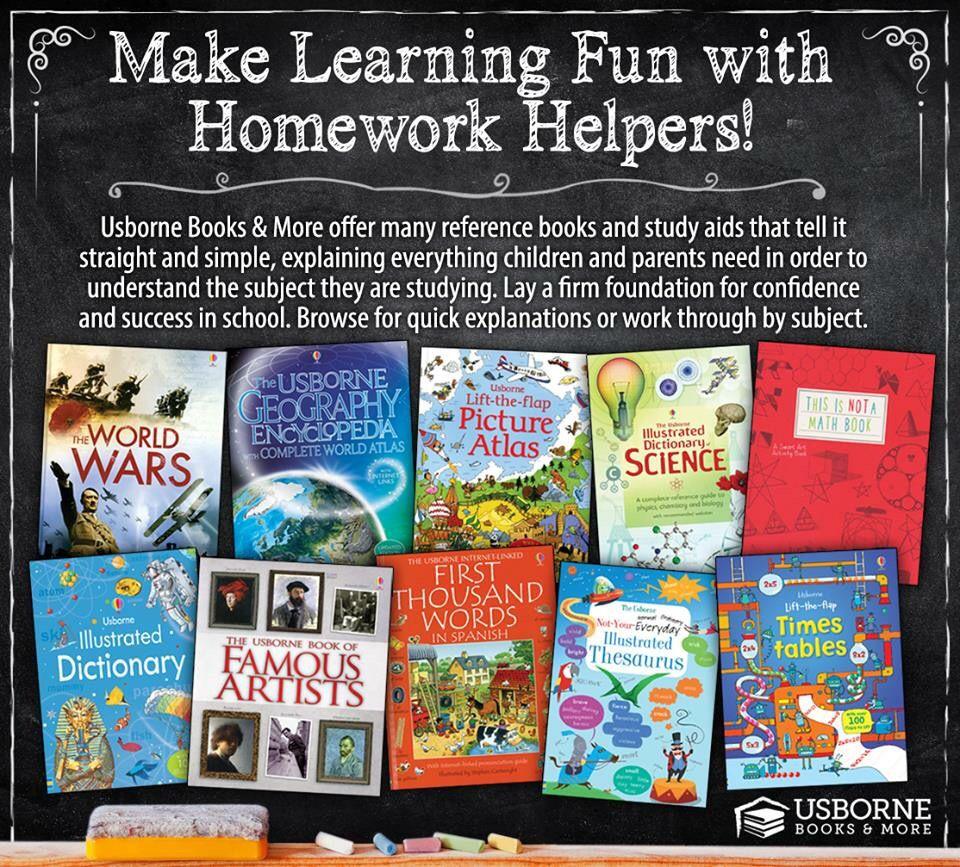 Let Usborne books part of your child's education