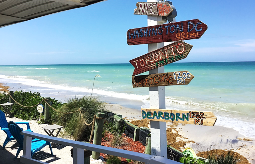 Visit the shores of Manasota Key Florida on your trip to ...