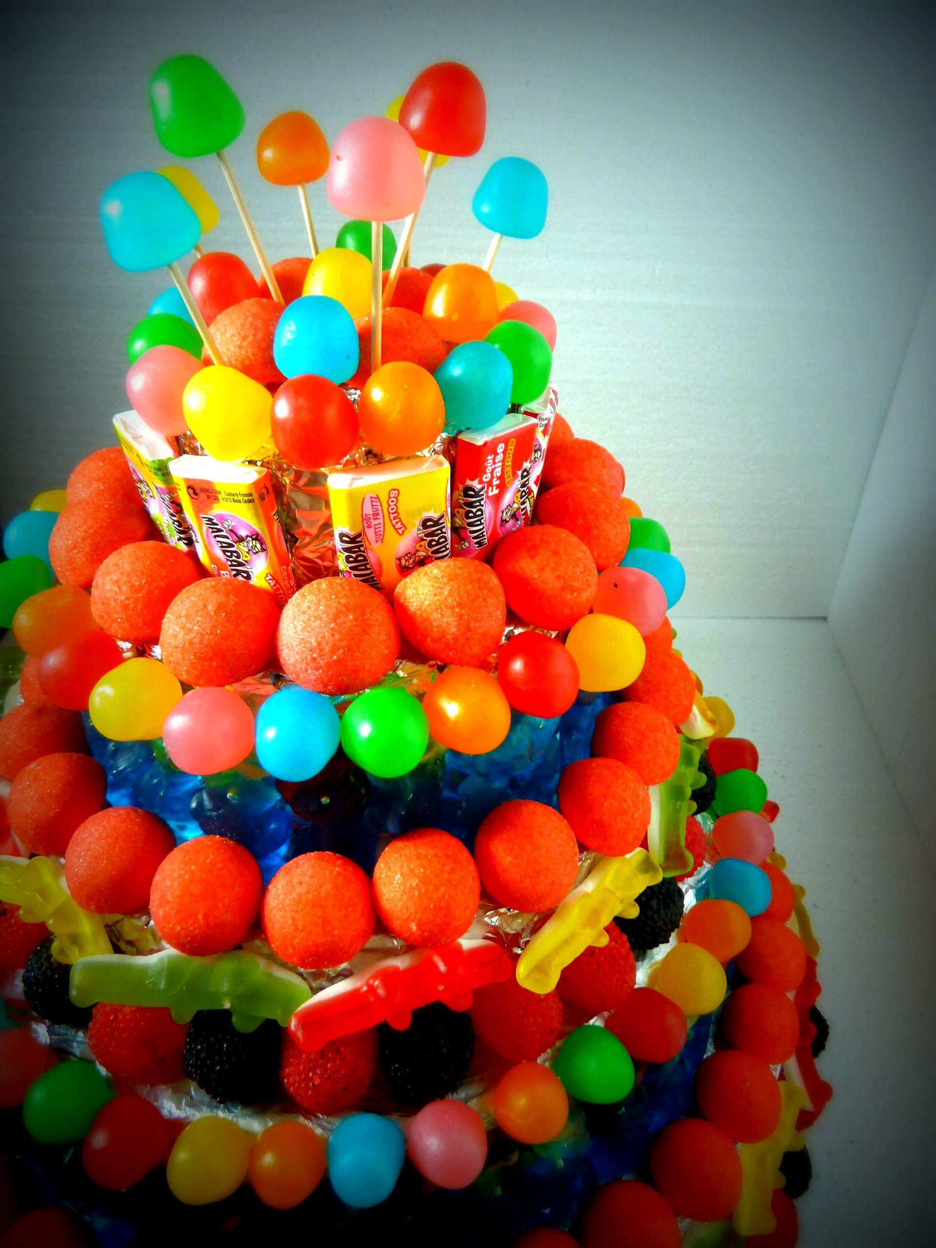 Gateau De Bonbons Pour Anniversaire