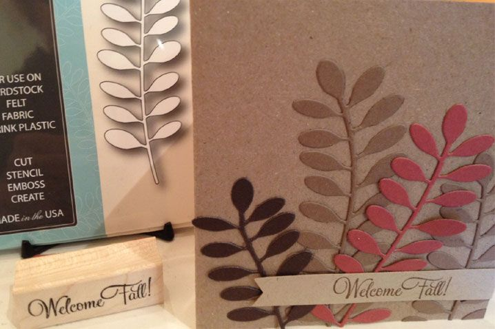 Love the versatility of this die we love dies for Impress cards and crafts