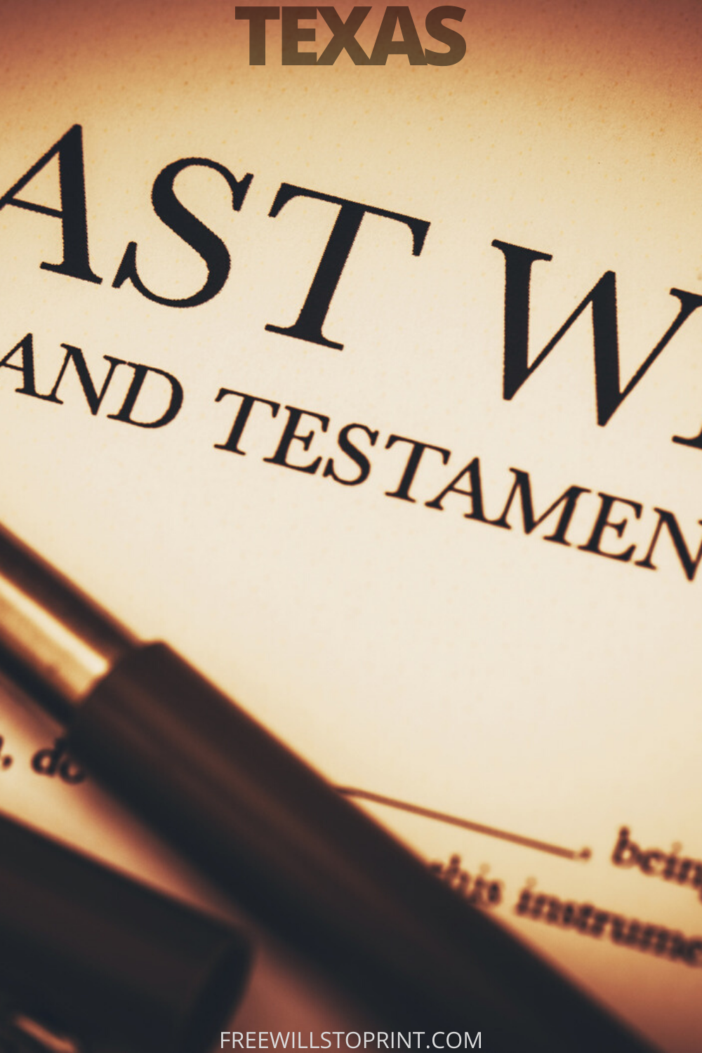 Pin on Last Will and Testament Forms (US) Printable Last