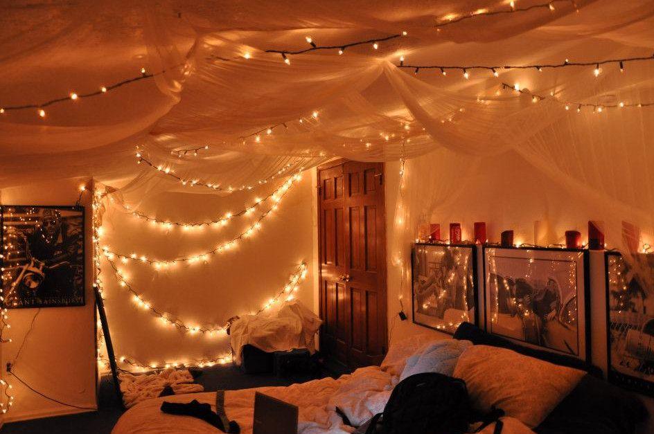 Fairy Lights Bedroom Decoration Jpg 944 627