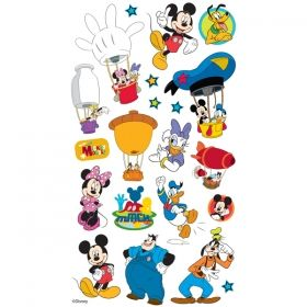 RETRO MICKEY MOUSE DONALD STICKER WALL DECAL OR IRON ON TRANSFER T-SHIRT LOT