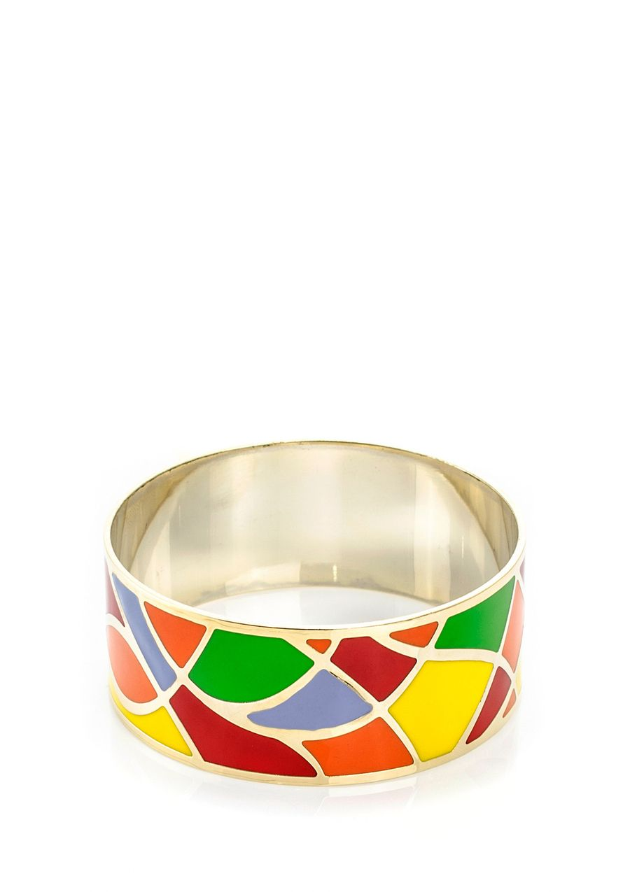 CZ BY KENNETH JAY LANE  Caribbean Enamel Bangle
