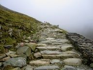 Climbing Mount Snowdon... and courage??  yes...