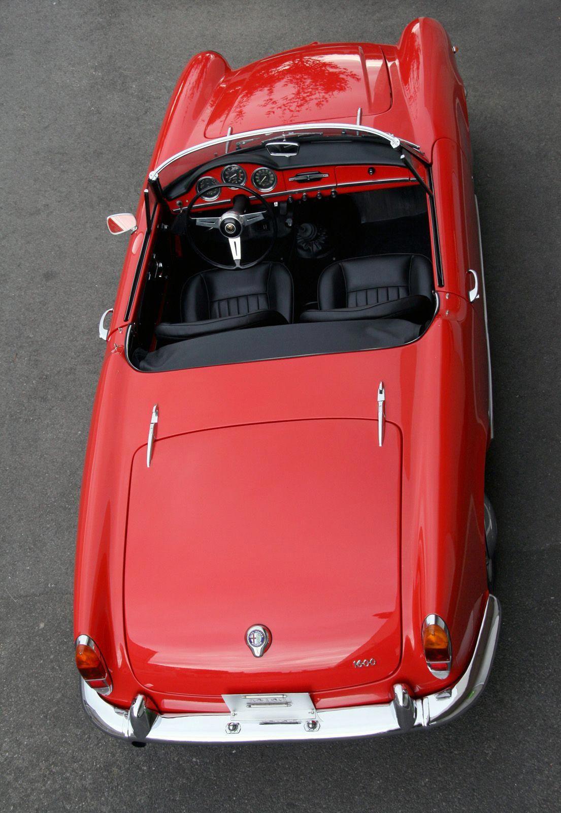 Alfa Romeo Giulietta Spider Alfaromeoclassiccars 1961 Heck