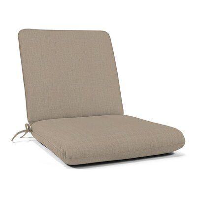 Indoor Outdoor Sunbrella Club Chair Cushion Fabric Cast Ash In