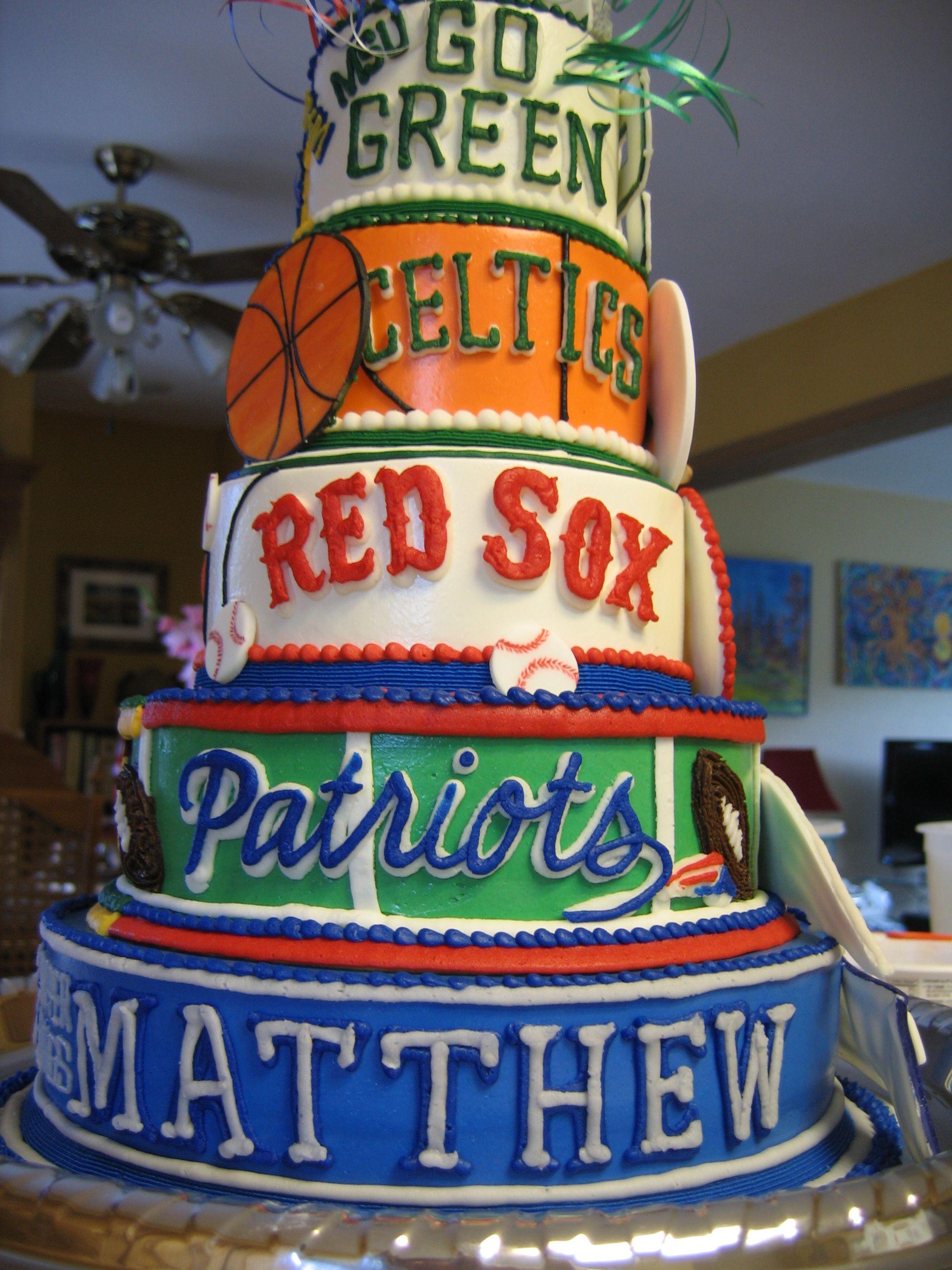 Sports Cake For Teen Boy Cake Pinterest Teen Boys Teen And Cake