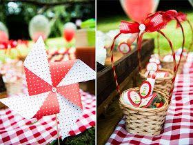 Festa de aniversário piquenique no Parque - O que servir? - Cantinho Organizado