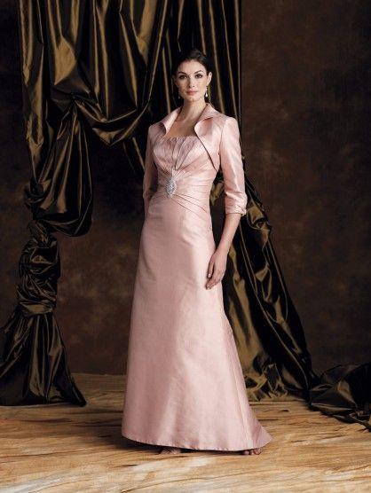 Roses Trägerlos Perlen Taft Kleider Für Mutter Der Braut [#UD4140 ...