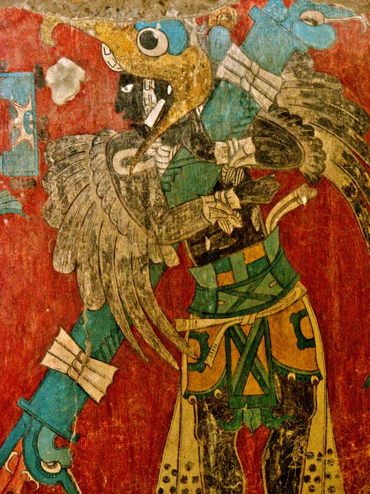 Cacaxtla 39 s venus temple and the battle murals cacaxtla is for Siege mural rabattable
