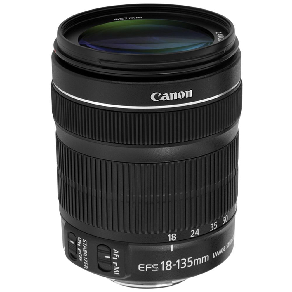 Canon Ef S 18 135mm F 3 5 5 6 Is Stm Lens White Box Canon Lens Canon Ef Canon