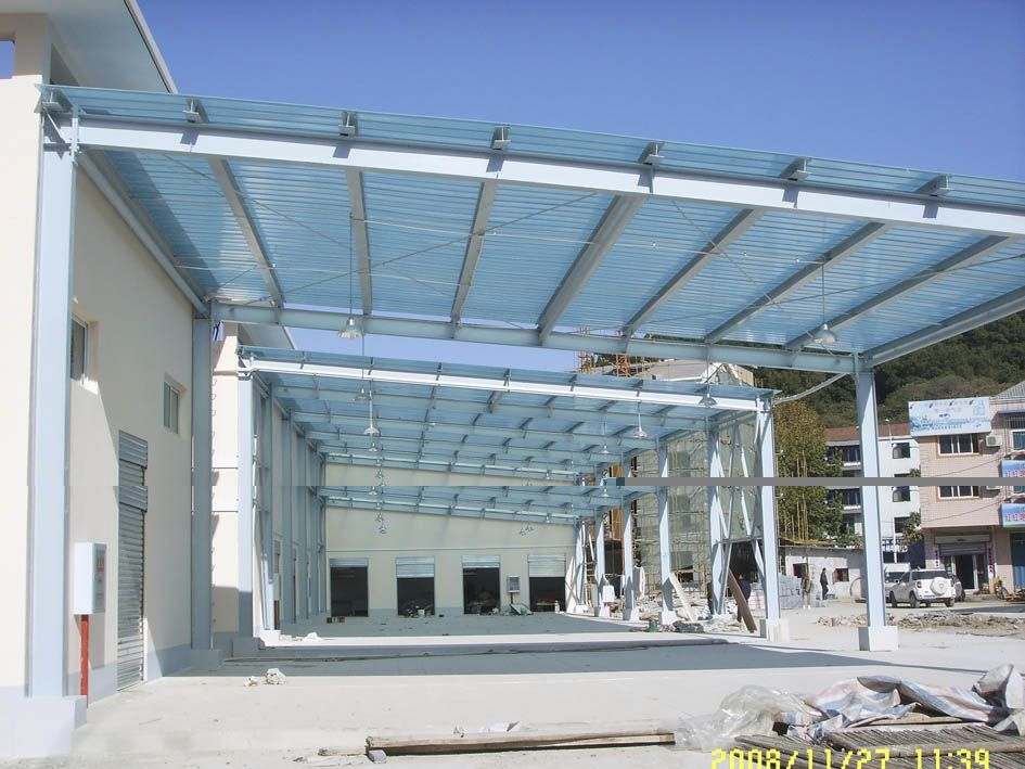 Glass Reinforced Plastic Roofing Panels