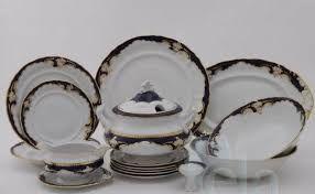 Znalezione obrazy dla zapytania porcelana obiadowa