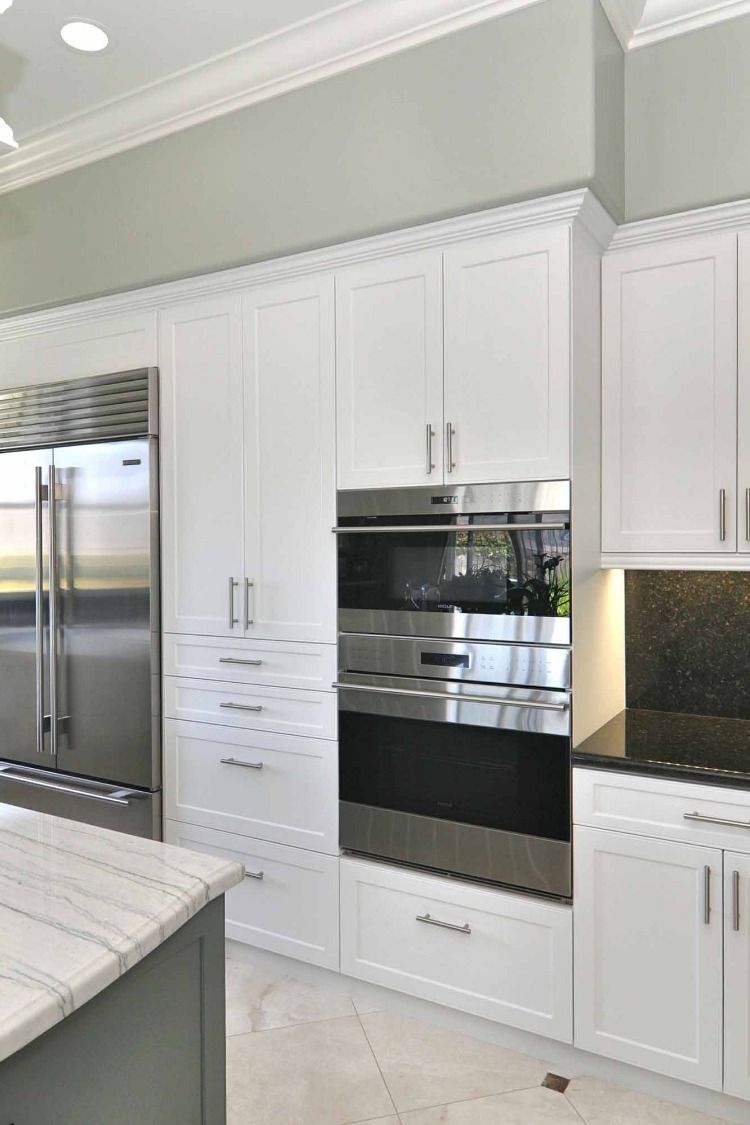Naples Rtf Shaker Custom Cabinet Doors Refacing Kitchen Cabinets