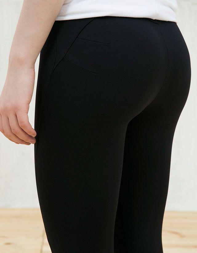 Pantalones - MUJER - MUJER - Bershka Costa Rica