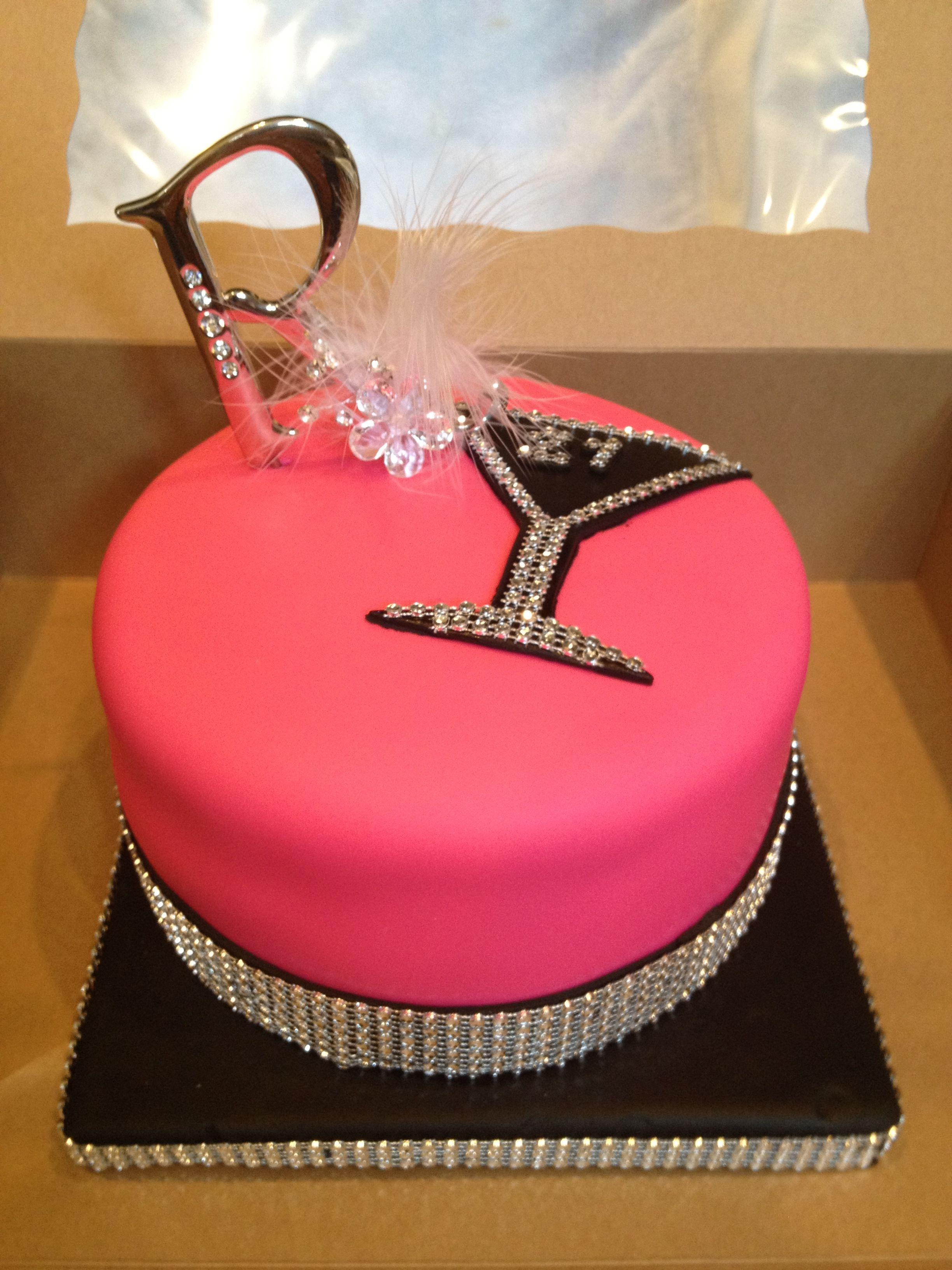 Bling Bling 21st Birthday Cake Scrumdiddlyumptious Pinterest