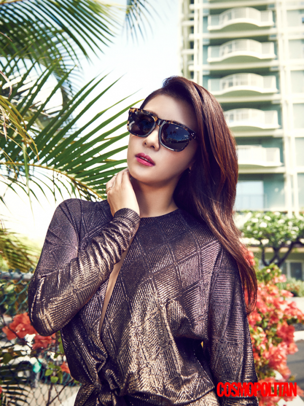 Ha Ji Won Cosmopolitan Magazine October 2015 Photoshoot