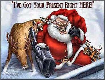 A New Contract For Santa Has Been Negotiated Creepy Christmas Scary Christmas Bad Santa