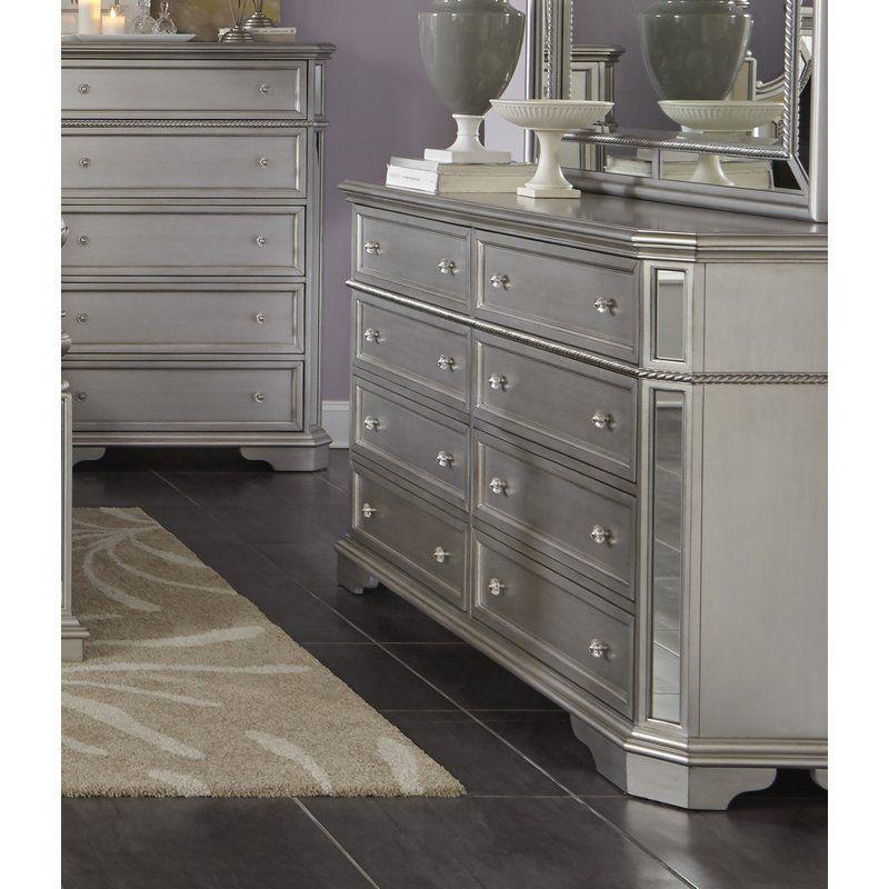 Best Verne 8 Drawer Double Dresser Double Dresser Fine 400 x 300